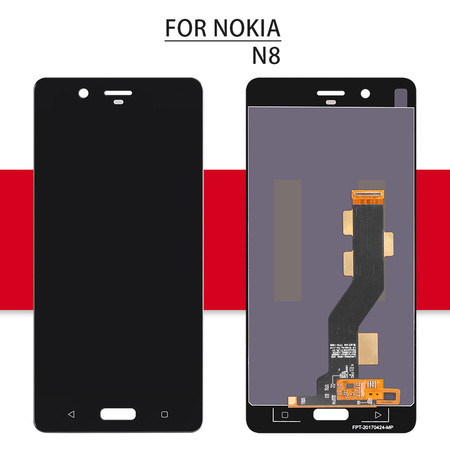 Srjtek Screen For Nokia 8 N8 LCD Touch 5.3'' 2560*1440 For Nokia 8 Display Digitizer Assembly Glass Sensor Replacement Parts