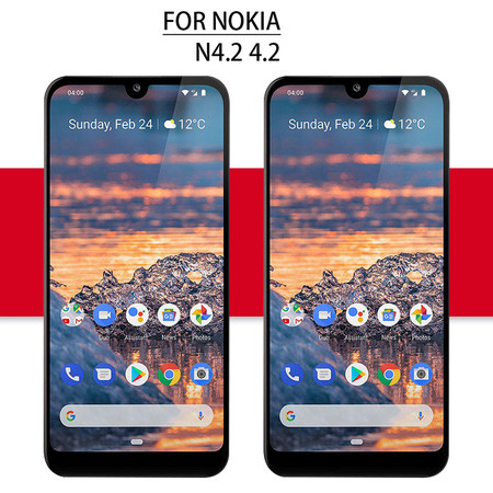 5.71'' For Nokia 4.2 LCD N4.2 Touch For Nokia 4.2 Display Digitizer Assembly Glass Sensor Replacement Parts For Nokia 4.2 Screen