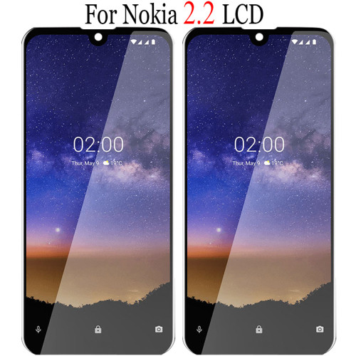 Original Tested For Nokia 2.2 LCD Display Touch Screen Digitizer Assembly Repair Replacement Parts For Nokia 2.2 LCD Screen