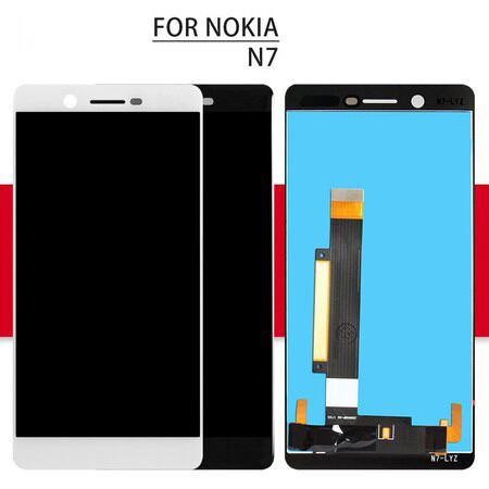 Touch For Nokia 7.1 Screen Assembly Glass Sensor For Nokia 7.1 Plus TA-1085