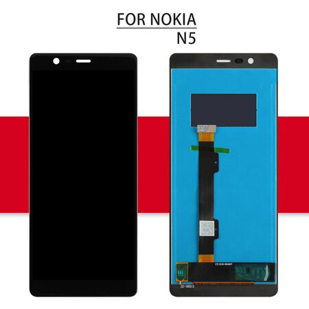 2018 Screen For Nokia 5 LCD Touch For Nokia N5 TA-1008 TA-1030 Digitizer Assembly Glass Sensor For Nokia 5.1 Display 5.1 Plus