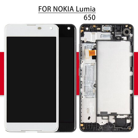 Screen For Microsoft For Nokia Lumia 650 LCD Matrix Touch Screen Digitizer Full Assembly With Frame For Nokia Lumia 650 Display