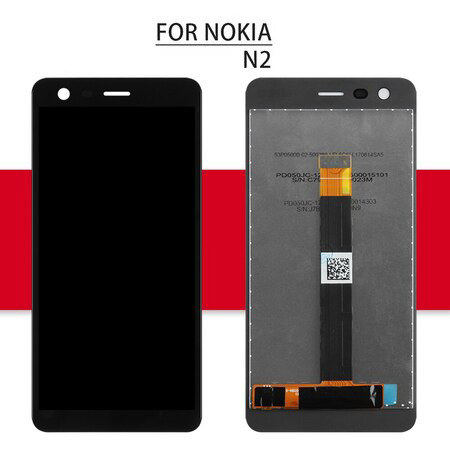 Srjtek Screen For Nokia 2 LCD For Nokia N2 Display Touch Digitizer Assembly Glass Sensor For Nokia 2.1 Display 2018 TA 1080 1084