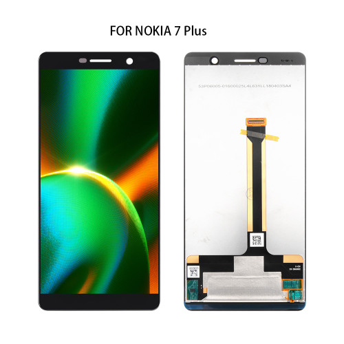 Display Touch For Nokia 7 Plus Screen Frame For Nokia 7 Plus LCD Digitizer Assembly Replacement E7 Plus TA-1062