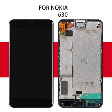 Srjtek For NOKIA Lumia 630 LCD Touch Screen with Frame For Nokia Lumia630 Display Digitizer Assembly Replacement Parts
