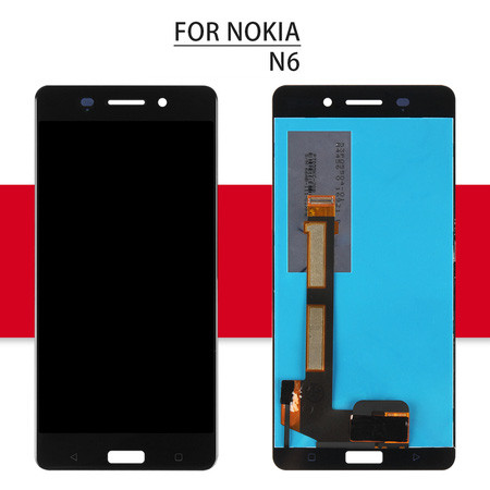 For Nokia 6 LCD For Nokia 6.1 Display N6 Touch Digitizer Assembly Glass Sensor X6 II 2018 TA-1045 For Nokia 6.1 Plus Screen