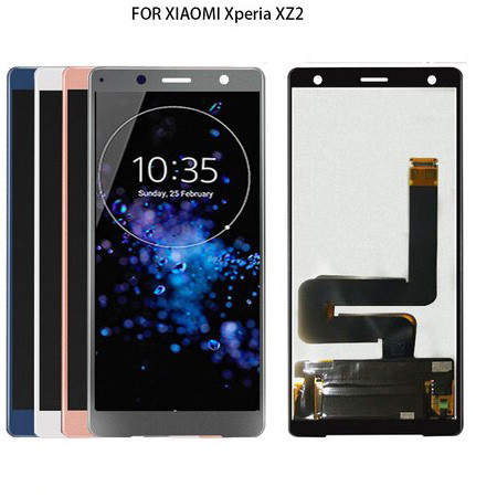 Original 5.7  2160*1080 Display For Sony Xperia XZ2 LCD Display Touch Screen Digitizer XZ2 For Sony XZ2 LCD Screen