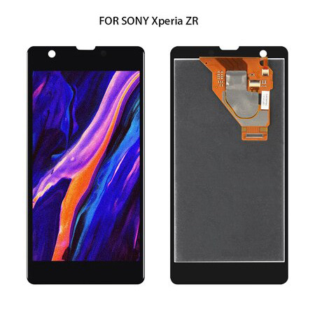 For SONY Xperia ZR M36h C5502 C5503 Display with Touch Screen Digitizer Assembly Replacement For SONY Xperia ZR LCD