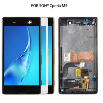 For Sony Xperia M5 LCD Tested Original 5.0'' For Sony Xperia M5 LCD Display Touch Screen Digitizer E5603 E5606 E5653