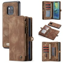 CaseMe Wallet For Huawei Mate 20 Pro Ultimate Functional All-In-One Handmade Leather Removable Elegant Flip Case For Mate 20 pro
