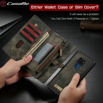 CaseMe Wallet For Huawei Mate 20 Ultimate Functional All-In-One Handmade Leather Removable Elegant Flip Case For Huawei Mate 20