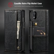 CaseMe Wallet Case For iPhone XS Max Credit Card Luxury New Flip Leather Wallet Phone Protector Magnetic Case For iPhone Xr