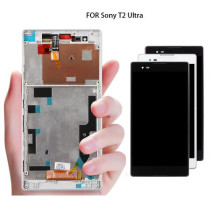 For Sony Xperia T2 Ultra D5303 D5306 LCD Display Touch Screen Digitizer Assembly Replacement Parts