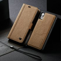 WHATIF Phone Case For iPhone XR Luxury DIY Paper Leather 2 IN 1 Credit Card Magnetic Flip For iPhone XR Wallet Detachable Case