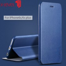 X-Level Leather Flip Case For iPhone 6 6S Plus Ultra Thin Shockproof Luxury Stand Back Cover Coque For iPhone 6 6s case