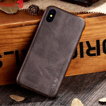 X-Level Leather Case For iPhone X XS Max Original Luxury Ultra Light Business Vintage Phone Cover For iPhone XR XS Case