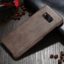X-Level Luxury Leather Case For Samsung Galaxy S8 Ultra Light Original Back Phone Cover Coque For Samsung Galaxy S8 Plus