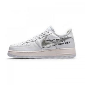 fe13874141d70 UA The Ten Off White X Nike Air Force 1 '07 Low Black AO4297-