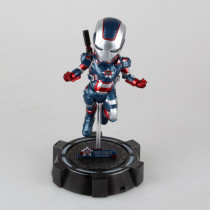 Marvel Iron Man Action Figure GARAGE KIT GK PVC Model Kit Doll Toy