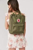 fjallraven kanken backpacks / amry green
