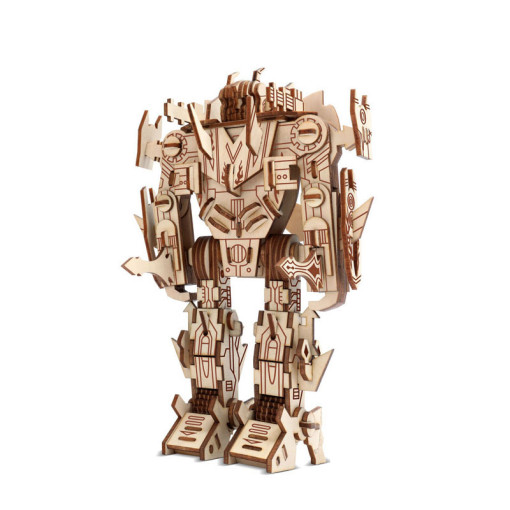 Transformers 3D Wooden Assembly Puzzle