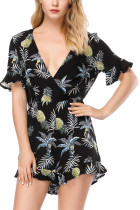 Pineapple playsuits