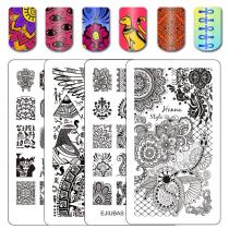 Henna Egypt Floral Nail Stamping Plates