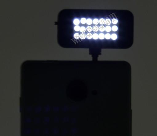Wavertec LED Flash Light for Mobile Phone Tablet BlackBerry iPhone 6 Plus Galaxy S6 Edge