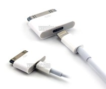 Wavertec Apple iPhone 8 Pin Lightning Female to 30 Pin Male Adapter Connector