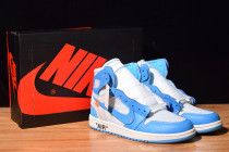 AIR JORDAN 1 Off White UNC AJ1