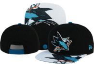 San Jose Sharks Snapback Hats (51)