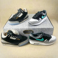 "Authentic Air Jordan 3 x Air Max pack ""Atmos"""
