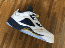 "Authentic Air Jordan 5 Low ""Dunk From Above"""