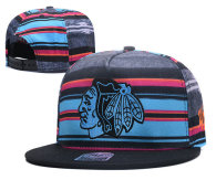 NHL Chicago Blackhawks Snapback Hat (81)
