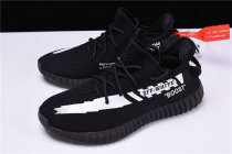 Authentic OFF-WHITE x Yeezy Boost 350 V2 Black