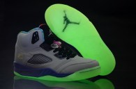 Jordan 5 shoes Mandarin duck shoes Luminous soles