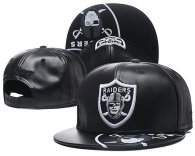 NFL Oakland Raiders Snapback Hat (46)