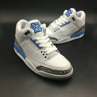 Authentic Air Jordan 3 UNC PE
