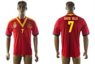 13 14 Spain Thai  Jerseys(1)
