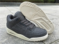 Authentic Air Jordan 3 Wool