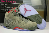"Authentic Air Jordan 5 ""CAMO"""
