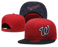 MLB Washington Nationals Snapback Hat (37)