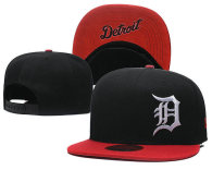 MLB Detroit Tigers Snapback Hat (40)