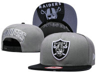 NFL Oakland Raiders Snapback Hat (448)