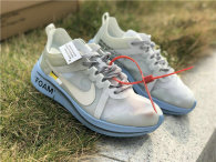 Authentic Off White x Nike Zoom Fly White/Jade