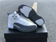 "Authentic Air Jordan 12 ""Dark Grey"""