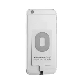 Hot Selling Wholesale Universal Qi bluetooth Charger Receiver for iPhone and Android Mobile phones