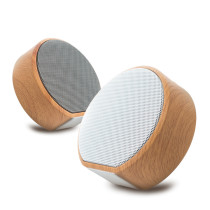 Hot Sale High Quality Wholesale Wooden Portable bluetooth Speaker