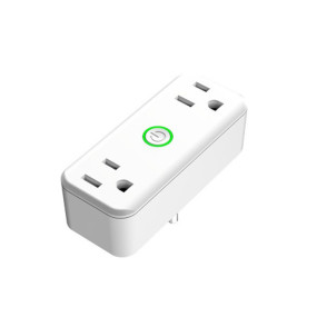 New US Smart Plug WIFI Smart Power Socket with 2 Outlets Extension Plug