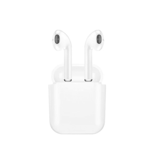 Ear Blue-tooth 5.1 Version TWS Earphone I9 White Color with 800mAH Power Bank Case(FD 6904)